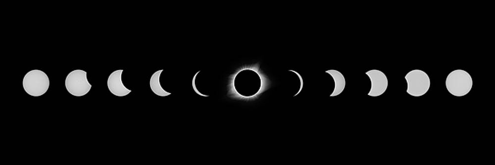 Max Waugh - Solar Eclipse Full Composite White