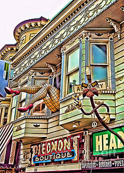 Something to find only the in the Haight Ashbury by Jim Fitzpatrick
