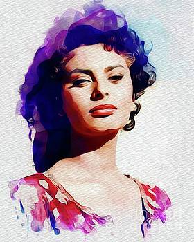 John Springfield - Sophia Loren, Vintage Movie Star