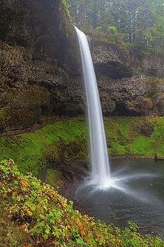 South Falls at Silver Falls State Park by David Gn