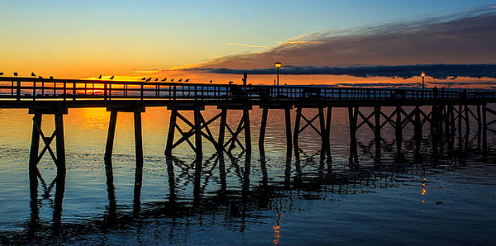 Southport Sunrise by Nick Noble