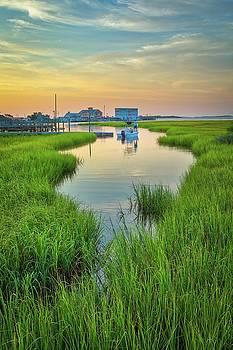 Southport Yacht Basin by Nick Noble