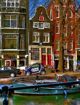 Spiegelgracht 6. Amsterdam by Juan Carlos Ferro Duque