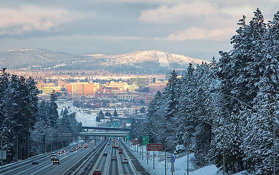 Spokane Winter by James Richman