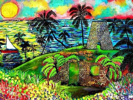 Spratt Hall Plantation St Croix by Ted Hebbler