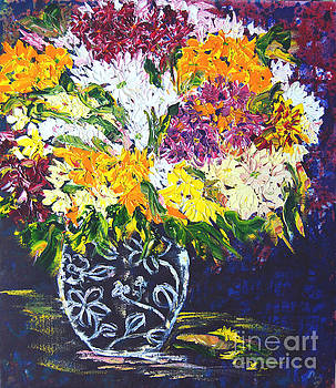 Spring Flowers by Lynda Cookson