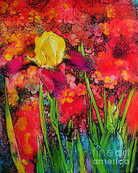 Spring Iris by Gina Signore