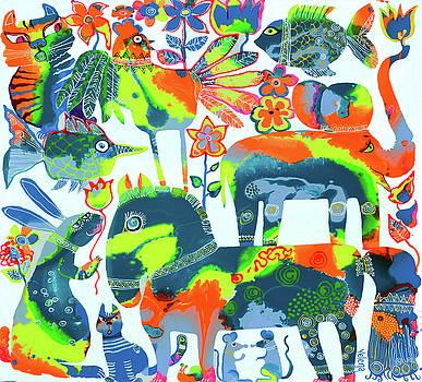 Spring zodiac by Yelena Revis