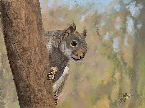 Squirrel 2016 by Edith Hicks