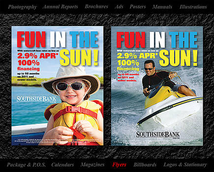 SSB posters I did by Gerald Lambert