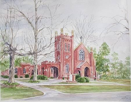 St. David's Episcopal Church by Gloria Turner