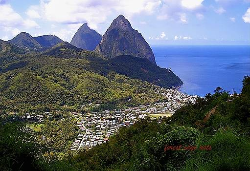 St. Lucia  by Dick Bourgault