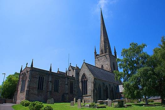 St Mary the Virgin Ross-on-Wye by Chris Day