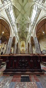 St Vitus kathedraal. Prague Castle. Prague spring 2017 by Jouko Lehto