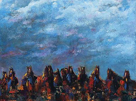 Stampede by Frances Marino
