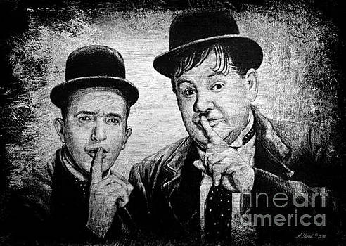 Stan and Ollie by Andrew Read