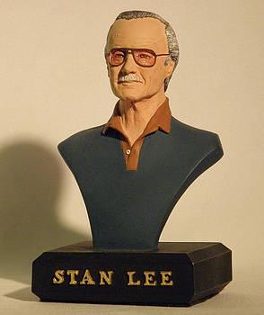 Stan Lee by Nijel Binns