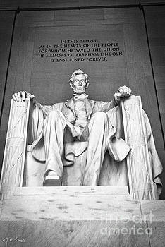 Statue Of Abraham Lincoln #9 by Julian Starks
