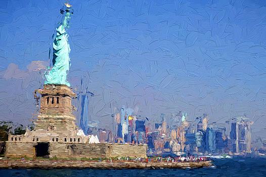 Statue of Liberty, NYC by Matthew Ashton