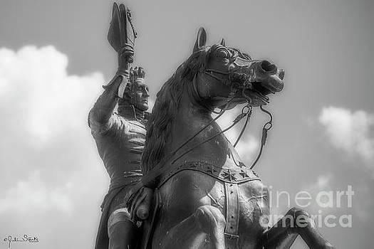 Julian Starks - Statue of President Andrew Jackson #2