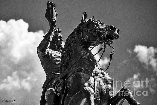 Julian Starks - Statue of President Andrew Jackson #3