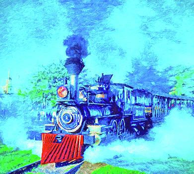 Dennis Cox WorldViews - Edison Locomotive