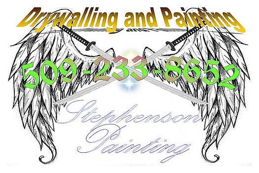 Stephenson Painting Logo by Jason Stephenson