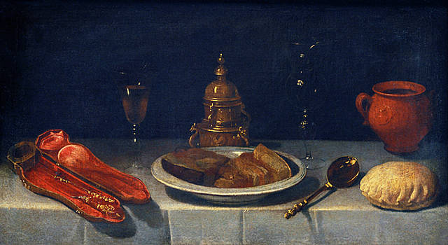 Still Life and Laid Table by Juan van der Hamen