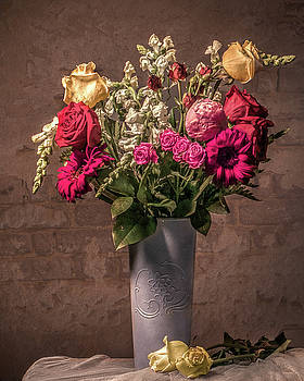 Still Life Floral by Jerri Moon Cantone