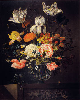 Jacob Marrel - Still Life with Flowers