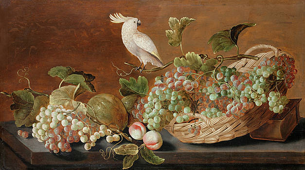 attributed to Roelof Koets - Still life with Parrot