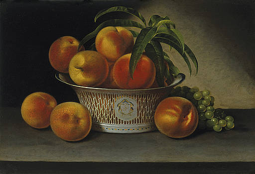 Raphaelle Peale - Still Life with Peaches