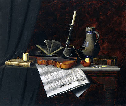 Still Life with the Toledo Blade by William Harnett