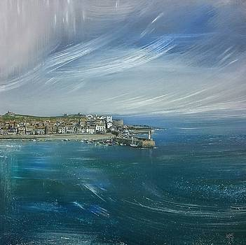 St.Ives, Cornwall, UK  by Keran Sunaski Gilmore