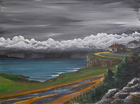 Storm Approaching by Bob Hasbrook