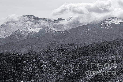 Steve Krull - Storm Clouds on Pikes Peak Colorado