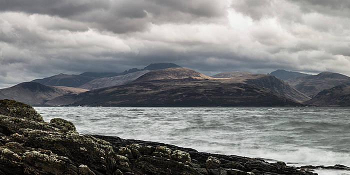 Stormy Arran Panorama by Russell Millner