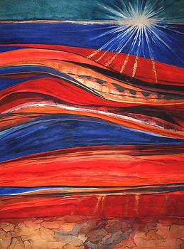 Strata - 9 by Caron Sloan Zuger