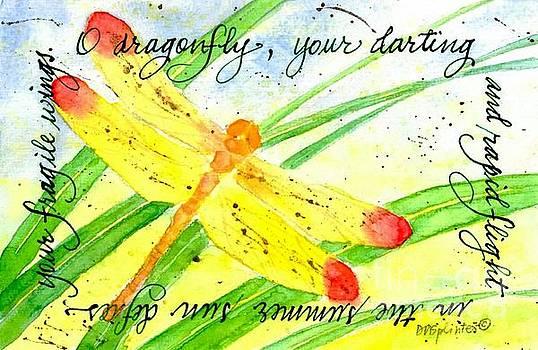 Summer Dragonfly by Diane Splinter