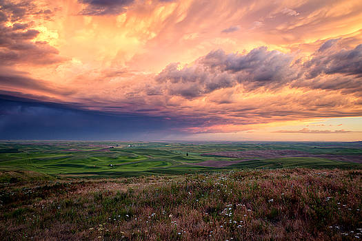 Summer Storm on the Palouse by James Richman