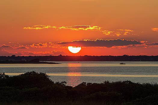 Summer Sunset by Roderick Breem