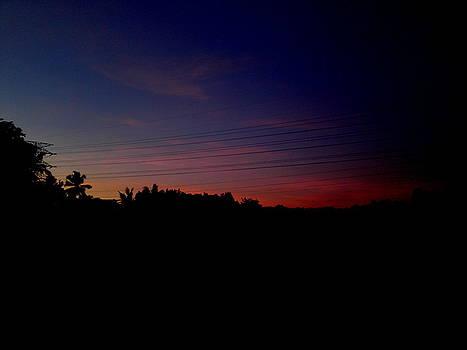 Sun ray in dark by Rushan Ruzaick