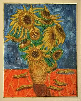 Sunflower by Agnes V