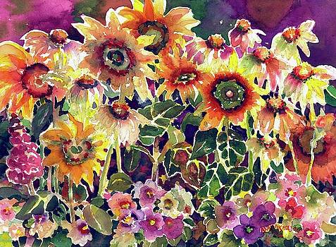 Sunflower Garden by Ann Nicholson
