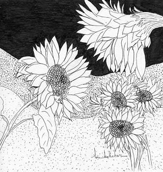 Sunflowers by Lou Belcher