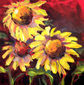 Sunflowers by Paula Strother
