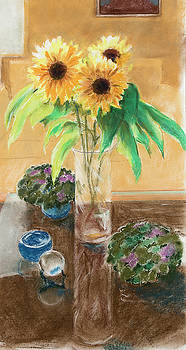 Sunflowers Reglected by Ray Cole