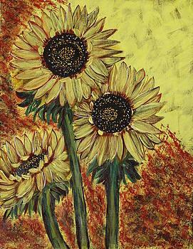 Sunflowers by Seema Varma