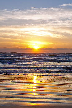 Sunrise at Beach by Brian Kinney