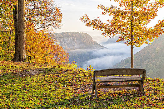 Sunrise At Humphrey's Overlook by Jim Vallee